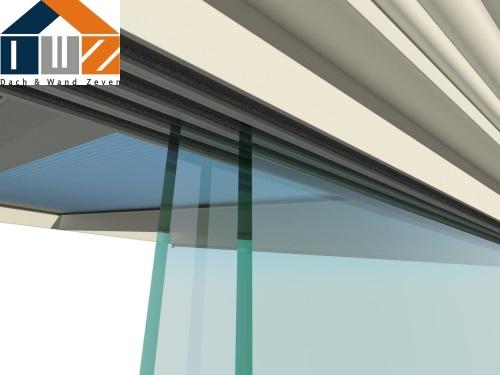 Glasschiebetüren für Ihre Terrassenüberdachung | Dach und ...